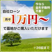 自社ローン月々1万円~